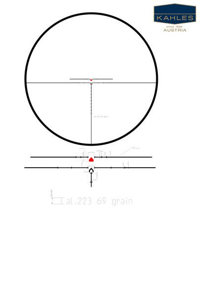 Kahles HMR Reticle